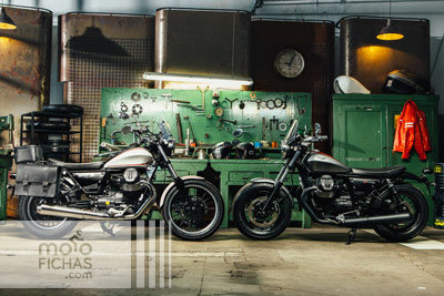 Las nuevas V9 de Moto Guzzi: Bobber y Roamer a la venta (image)