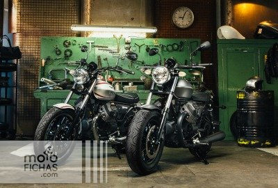 """Prueba las Moto Guzzi V9 en los """"Eagle Days"""" (image)"""
