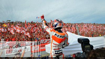 ¿A más caídas más audiencia de MotoGP? (image)