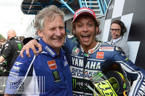 """Burgess: """"Rossi es especial. Incluso cuando me despidió"""" (image)"""