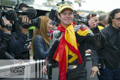 Carrera Moto2 Gran Premio Malasia 2014: Tito Rabat Campeón del Mundo (image)