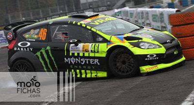 """Valentino Rossi termina segundo en el """"Monza Rally Show 2014"""" (vídeo) (image)"""