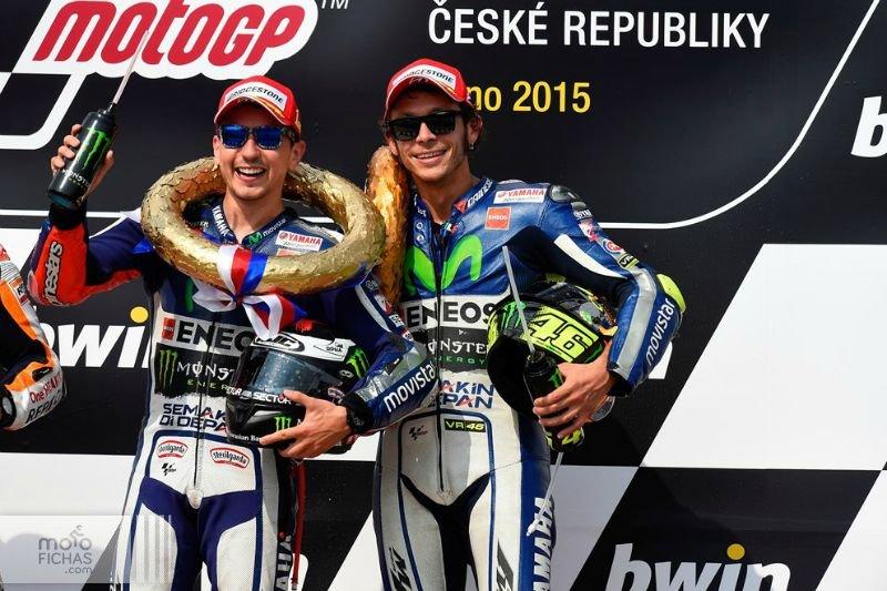 motogp 2015 brno podium jorge valentino noticia