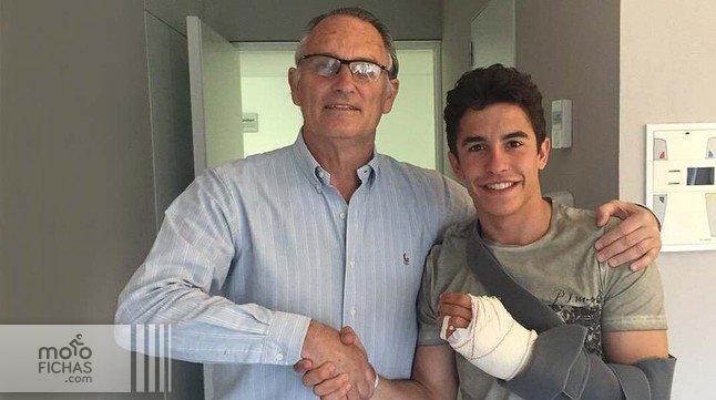 Marc Márquez se rompe el dedo: duda para Jerez (image)
