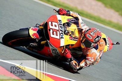 MotoGP 2015 GP de Alemania: Márquez pole y claro favorito (image)