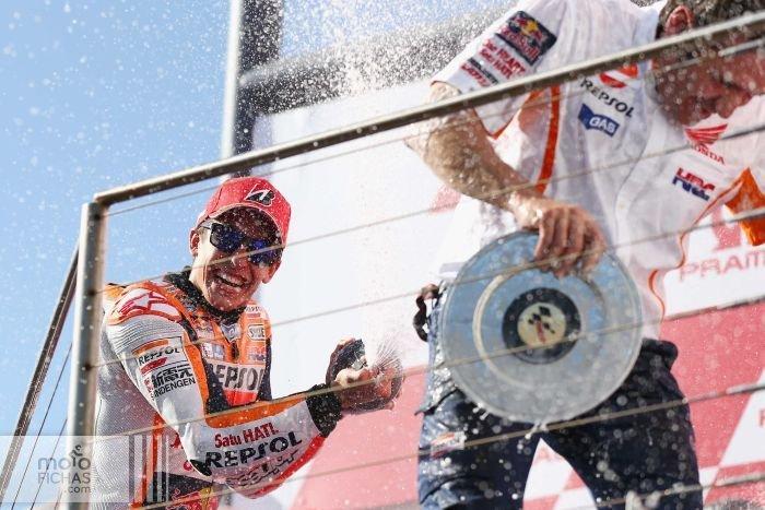 GP de Australia 2015: Márquez gana la carrera del año (image)
