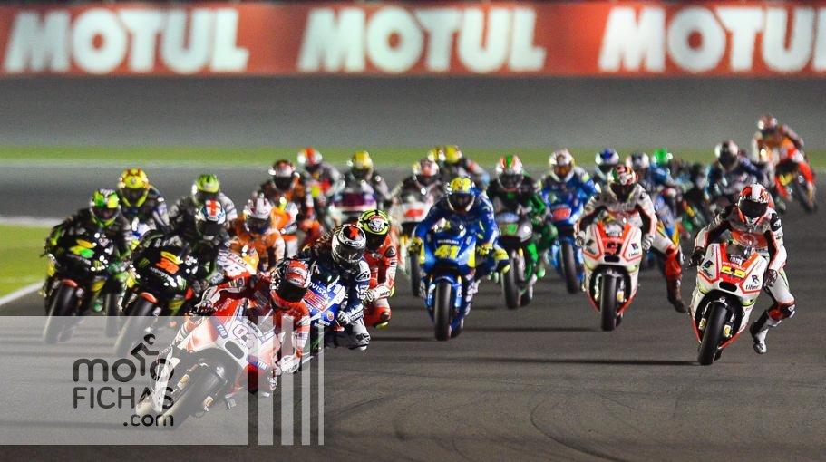 qatar 2015 motogp salida