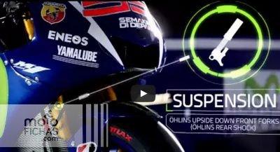 La técnica de la YZR-M1 de Rossi y Lorenzo (vídeo) (image)