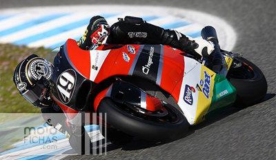 Axel Pons Test Jerez 2016