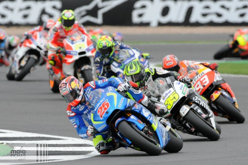 silverstone motogp 2016 carrera salida