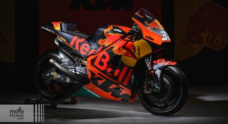 Así es la KTM RC16 de MotoGP (image)