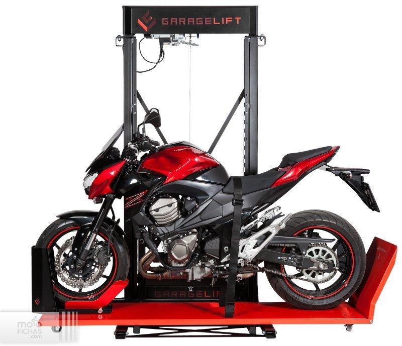 GarageLift: tu aparcamiento elevado de motos (image)
