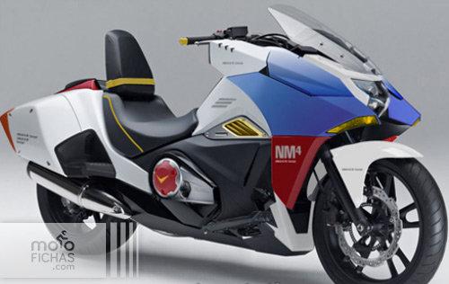 Honda NM4 Vultus Gundam Replica: robotizado (image)