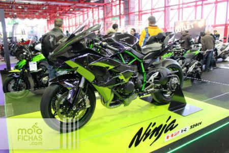 motomadrid 2015 kawasaki ninja h2 r
