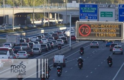 Las motos excluidas de las restricciones a la circulación en Madrid (image)