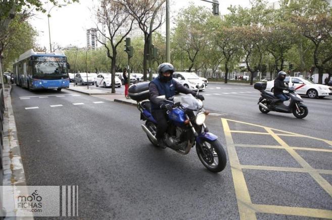 Las motos no podrán circular en Madrid con altos niveles de contaminación (image)