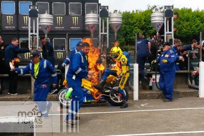 Repostaje accidentado en el Tourist Trophy (vídeo) (image)