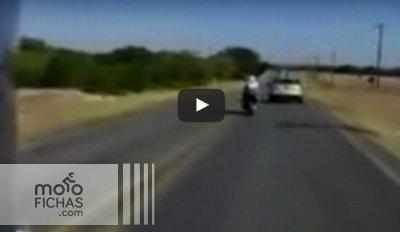 Intento de homicidio a un motorista en un adelantamiento (vídeo) (image)
