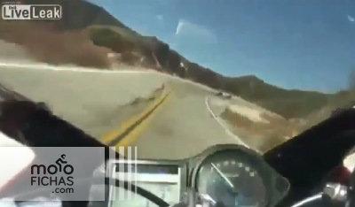 Menuda librada en plena curva (vídeo) (image)