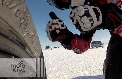 Ducati 1199 Panigale en Bonneville a 290km/h (vídeo) (image)