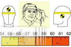tallas casco