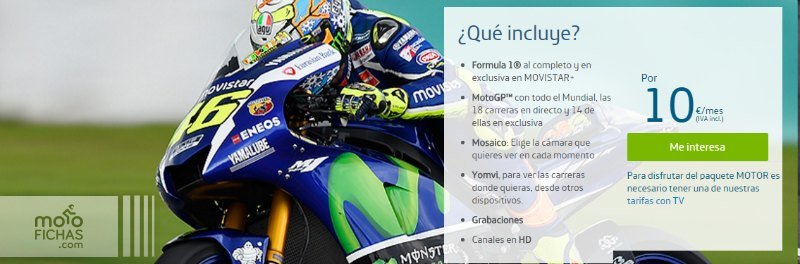 Ver MotoGP 2016 gratis online tv movistar
