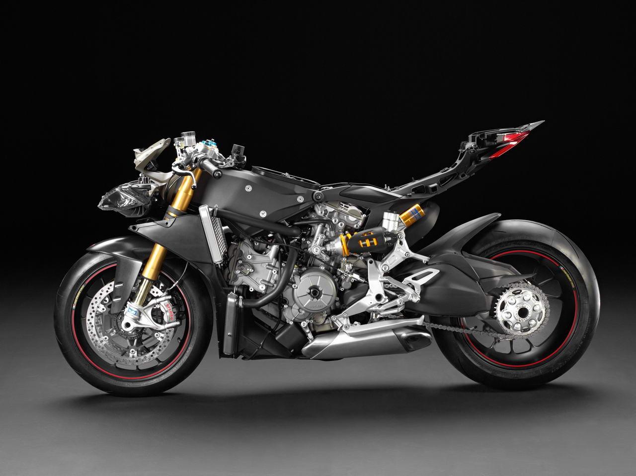 Así es la Ducati 1199 Panigale en cueros (image)