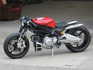 Ducati Monster 1100 Flat Red II (image)