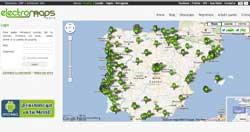 Electromaps: un localizador de puntos de recarga (image)