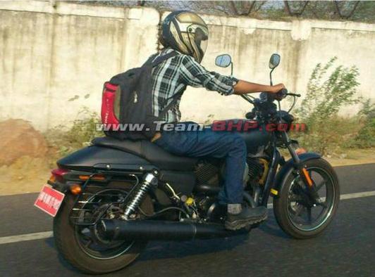 ¿Es ésta la Harley Davidson para la India? (image)