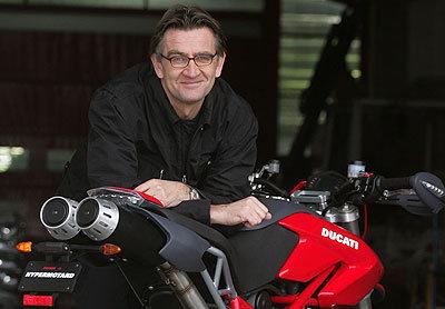 El exdiseñador de Ducati ficha por Confederate (image)