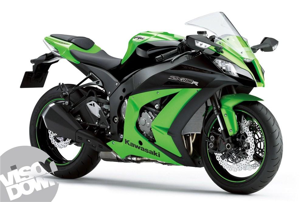 Nueva Kawasaki ZX10-R 2012: el negro viste (image)