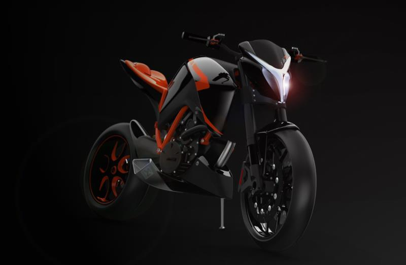 Super Duke 1200 R Concept: sueños naranjas (image)