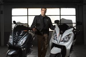 Marc Gené, nueva imagen de Peugeot Scooters (image)