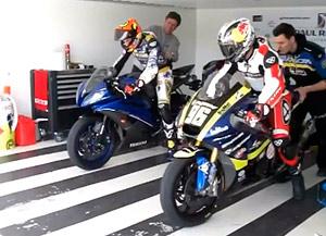 Sebastien Loeb prueba una Moto2 (VIDEO) (image)