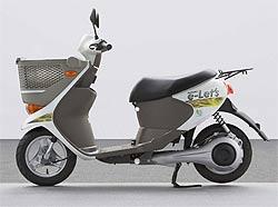 Ya rueda el scooter eléctrico de Suzuki: e-Lets (image)
