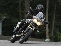 Triumph Adventure 2011: Las fotos espía de su nueva trail (image)
