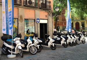 "Cooltra ""enchufa"" Madrid (image)"