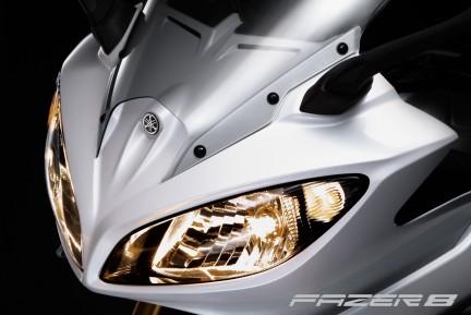 Yamaha Fazer 8: El frontal (image)