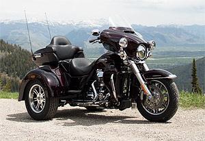 Harley-Davidson Tri Glide Ultra Classic: duros en triciclo (image)