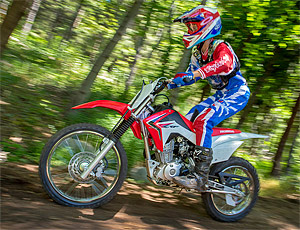 "Honda CRF125FB: tu primera moto-cross… ""chispas"" (image)"
