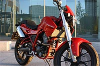 La Mulhacen es una moto especial pero la versión Cafe adopta un estilo único por los muchos detalles que aporta, tanto estéticos como de componentes.